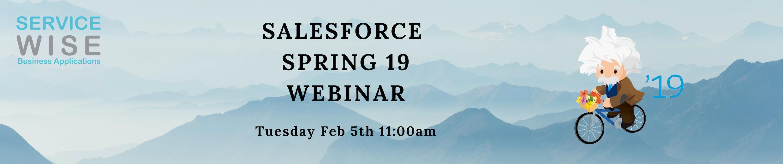 Salesforce Spring'19 Webinar